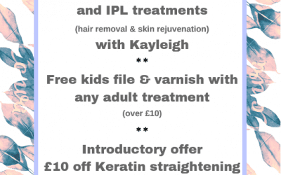 August Offers!