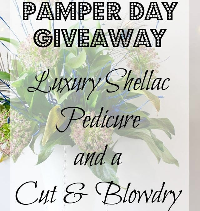 Win A Luxury Shellac Pedicure and Cut & Blow-dry At The Venue